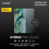 Uneed Hybrid Pro Anti Gores Anti Break Samsung Galaxy A9 2018