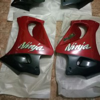 fairing bawah ninja rr cbu merah Zx150