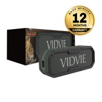VIDVIE Wireless Speaker 10W SP906 / IPX 5 / TWS Connect + Powerbank