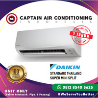 AC SPLIT DAIKIN FTC-35NV14 (New Thailand) 1.5 PK Standard UNIT ONLY