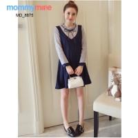 Mommymine Baju Hamil / Mini Dress Hamil Impor (MD_8875)