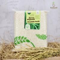 Beras Organik Menthik Susu Putih 1kg - Lingkar Organik