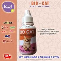 Bio Cat Obat Kucing Demam Luka Infeksi Pencernaan Dan Pernafasan