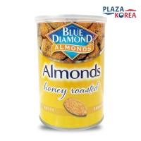 BLUE DIAMOND ALMOND ROASTED HONEY - ALMOND PANGGANG RASA MADU 130GR