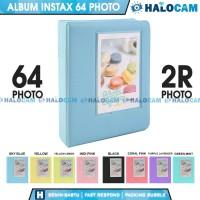 Album Colorful 64 Foto 2R Polaroid Instax Mini 8/9/11/25/50/80/90/SP-2
