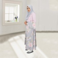 Baju Gamis Sarimbit Zahra - Ibu ( Menyusui ) / I Am Cotton Gamis Zahra
