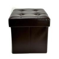 Bangku Ottoman Lipat, Kursi, Sofa Box/Kotak Penyimpanan Krishome 38x38