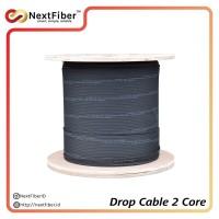Drop Cable-Drop Core- Kabel DW 2 Cores Kabel Fiber Optic