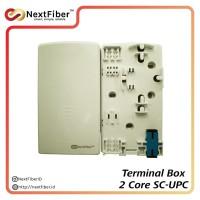Terminal Box 2 Cores SC-UPC