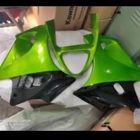 fering fairing samping v gril ninja rr old hijau metalik original baru