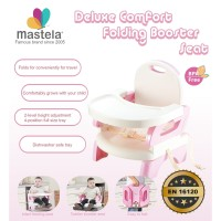 MASTELA Folding Booster Seat / Kursi Makan Bayi - PINK CANDY - 07331