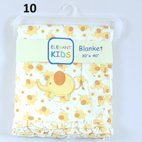 Blanket / Selimut Bayi, Frill 2 lapis ukuran 76cm x 100cm, J5322