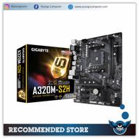 MOTHERBOARD AMD GIGABYTE A320M-S2H AM4 mATX