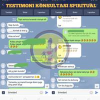 Testimoni terbanyak program spiritual/suprantural