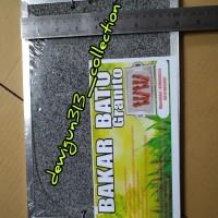 Batu Bakar Granit/Alat Panggang Bakar Sehat/Griller Alami Original