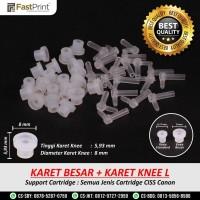 Knee L Dan Karet Knee CISS Cartridge Canon Import