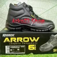 Sepatu Safety Arrow 6 Inch KRISBOW ORI
