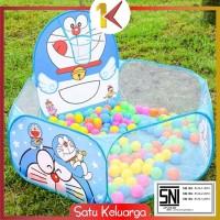 SK-M7 Mainan Kolam Mandi Bola 1.2m Tenda Keranjang Mandi Bola Anak Rin
