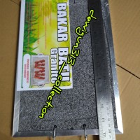 Alat Panggang Sehat Alami Serbaguna Batu Bakar Granito/Griller (2 pcs)