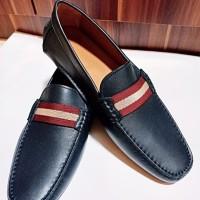 Sepatu Bally Original Waltec Navy