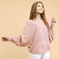 blouse wanita jumbo lasperal pink atasan wanita jumbo XXL big size