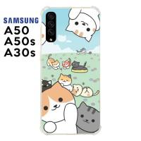 Casing Samsung Galaxy A50 A50s A30s Softcase Anticrack Kucing Lucu 32