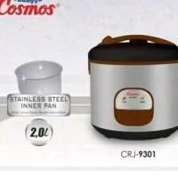 Cosmos Rice Cooker Crj 9301 2L 3In1 Original Ivastore223