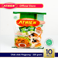 Athien - Otak-otak Goreng Pingpong Ikan Asli Belitung / 220 gram