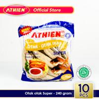 Athien - Otak-otak Goreng Super Ikan Asli Belitung / 240 gram