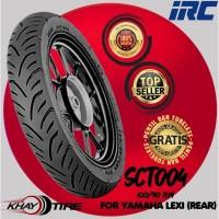 Ban Belakang Motor YAMAHA LEXI // IRC SCT-004 100/90 Ring 14 Tubeless