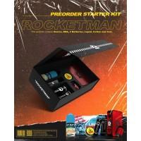 RocketMan Package ( MOD + RDA + BATTERY + Liquid + Kawat + Kapas ) - Merah