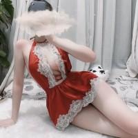LI-34 maid pelayan sexy lingerie baju tidur wanita seksi cosplay