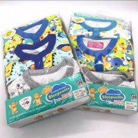 LB013 Libby Sleep Suit Premium Baju Tidur Jumpsuit Bayi Boy Laki