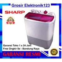Sharp Mesin Cuci 9 kg EST 95 CR MESIN CUCI 2 TABUNG