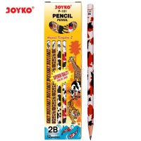 Pencil / Pensil Joyko P-101 / 2B / Animal Kingdom 2 / 1 BOX 12 PCS