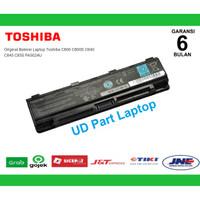 Original Baterai Laptop Toshiba C800 C800D C840 C845 C850 PA5024U ORI