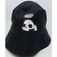Topi Bucket Anak Korea Bolak Balik | Hat Buket Polos Sablon Murah