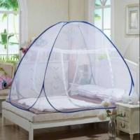 Kelambu Tenda Lipat Korea Butterfly Tempat Tidur anti nyamuk 180x200cm