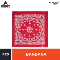 Eiger Bandana 2 Warna 1.1 - Red