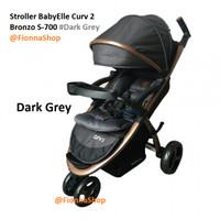 Stroller BabyElle Curv 2 s700 Red.Blue.Beige.Purple.Grey - Blue