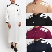 FTSL CORDOVA Jubah Gamis Pakaian Gamis Pria Al Isra Busana Muslim Pria - Maroon, XL