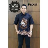 Kemeja Batik Pria Wayang Lengan Pendek By Amalia