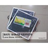 Batu Bakar Granito / Batu Bakar Granit 30x30cm (ORIGINAL)