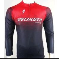 TERBAIK baju jersey balap sepeda specialized tangan panjang 01 MURAH