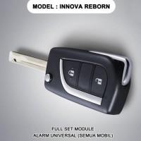 Alarm Mobil REMOTE Model Innova Reborn Kunci Lipat JT889 SET UNIVERSAL