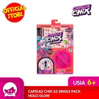 Mainan Boneka CAPSULE CHIX S2 Single Pack Holo Glow