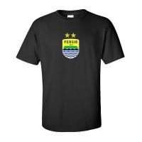 Kaos Baju T shirt Distro Hitam Logo Persib FJ1218