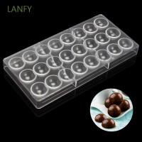 Cetakan Coklat Bentuk 24 Bola Bahan Polycarbonate