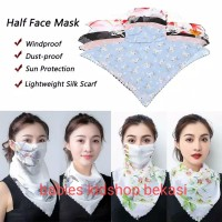 Fashion masker kain/syal sifon/scarf/masker import/shawl/masker wanita