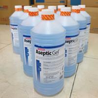 Aseptic Gel OneMed 1 Liter / Refill Hand Sanitizer 1 Liter